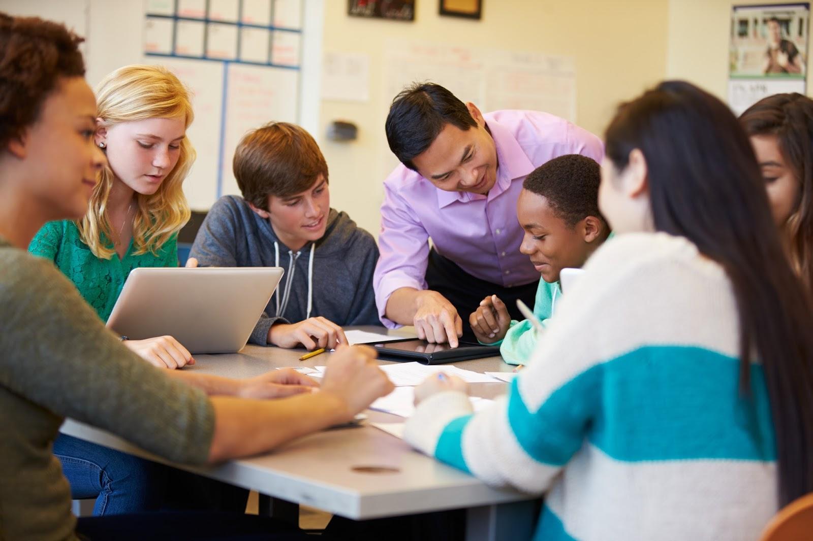 Teachers in the Classroom